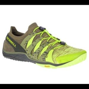 Merrell Trail Glove 5 3D Lime Punch Shoe Size 11.5